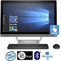 "HP Pavilion 27"" FHD IPS Touch-screen WLED, Intel G4400T, 1TB HDD, All-in-One PC (Certified Refurbished)"