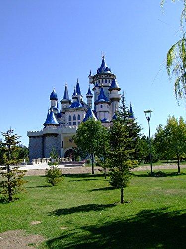 - Home Comforts Framed Art for Your Wall Fairy Tale Castle Tourist Eskisehir Turkey 10x13 Frame