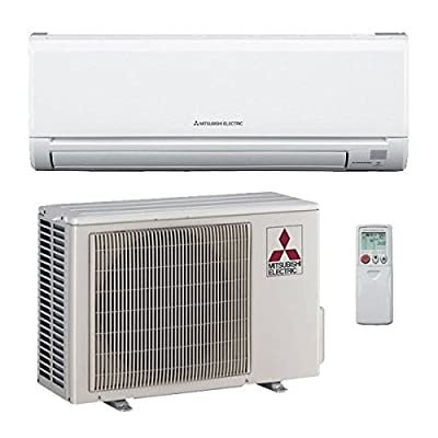 12,000 Btu 20.5 Seer Mitsubishi Single Zone Ductless Mini Split Air Conditioning System