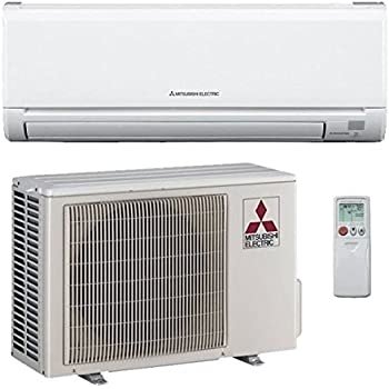 12,000 Btu 23.1 Seer Mitsubishi Single Zone Ductless Mini Split Heat Pump System