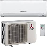 18,000 Btu 20.5 Seer Mitsubishi Single Zone Ductless Mini Split Air Conditioning System