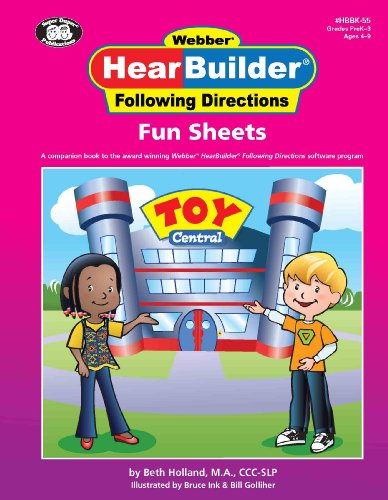 HearBuilder Following Directions Fun Sheets Book