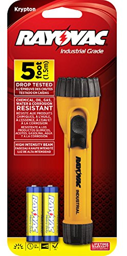 Rayovac I2AA-B - Handheld - Krypton, Non-Rechargeable, AA Battery Size, Yellow Body Color, Number of Batteriesx3b; 2, Pack of 15