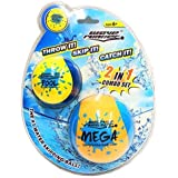 """Wave Runner Skipping Speed Duo Set Water Skipping Bouncing Balls Mega Ball & Pool Ball Toys Ages 6+ """"Two Water Balls for The Price of One (Single)"""
