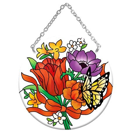 - Suncatcher-MC257R-Jewel Bouquet