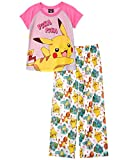 Pokemon Girls Girls' 2Pc Pajama Set, 4