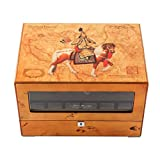 jianbo Chinese Fengshui Automatic Watch Winder Winders storages box Display Box Case Quiet Mabuchi Motors WB6945 , #11