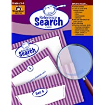 Reference Search Cards, Grades 3-6