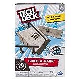 Tech Deck - Build-A-Park – Kicker Rail, Flatbar, and Barrier – Ramps for Tech Deck Board and Bikes