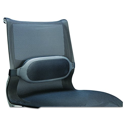 Fellowes CRC93116, I-Spire Series Lumbar Cushion to Comfort Lower, Gris