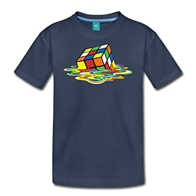 5be034c931b46 Spreadshirt Rubik s Cube en Train De Fondre T-Shirt Premium Ado ...