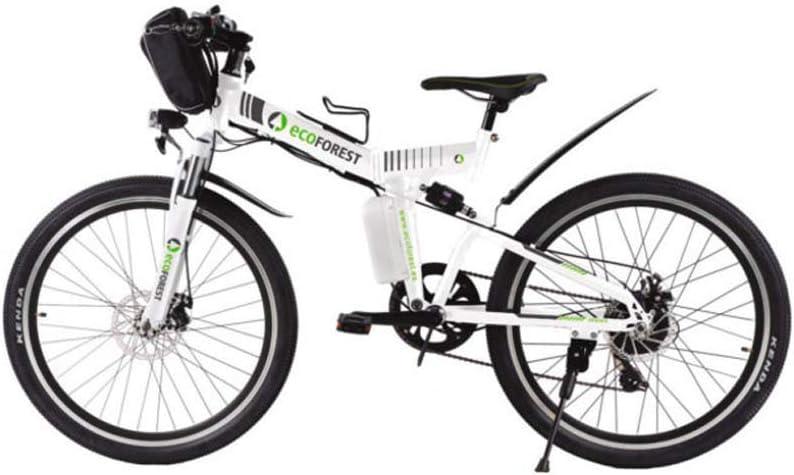 ECOFOREST Bicicleta de montaña eléctrica Plegable 350w High Speed