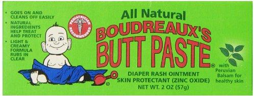 Butt Coller Diaper Cream Boudreaux, All Natural, 2 once