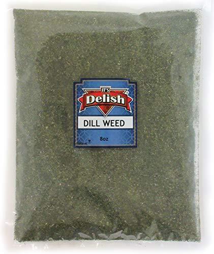 - Dill Weed 100% Natural by Its Delish, 8 oz (Half Pound) Bag