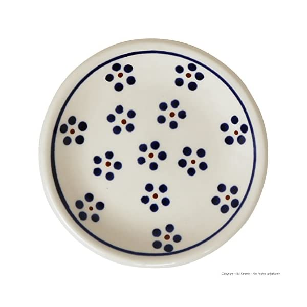 Small Pottery Ceramic plates (Sushiteller Ø11,6 CM Design 1)