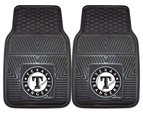 Texas Rangers Floor - Fanmats MLB Texas Rangers Vinyl Heavy Duty Car Mat