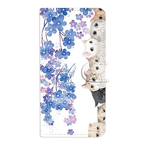 ビヨン経歴マウンドF.G.S iPhone XR ケース 手帳型 カバー スタンド機能 カードホルダ 紙幣収納ポケット付き Minisuit series Q082B 猫シリーズ2 Y02シリーズ
