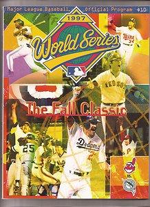 1997 World Series Program Florida Marlins vs Cleveland ()