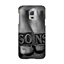 TV Show Sons Of Anarchy Pattern Soft TPU Case for Samsung Galaxy S5