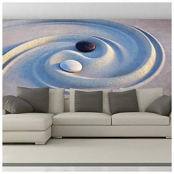 Ying Yang Fototapete Entspannung Tapete Schlafzimmer Badezimmer Wohnkultur