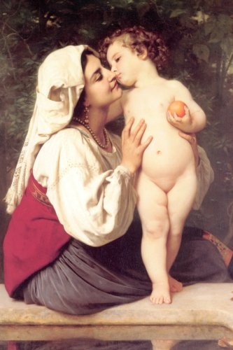 """""""The Kiss"""" by William-Adolphe Bouguereau - 1863: Journal (Blank / Lined) (Art of Life Journals) pdf epub"""
