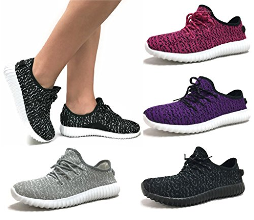 The Collection JILL Womens Athletic Shoes Casual Fashion Breathable Mesh Sneakers