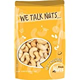 DRY ROASTED CASHEWS UNSALTED - Baked In Small Batches - WITHOUT OIL - PERFECTLY CRUNCHY - NATURALLY DELICIOUS. 2 Pound Bag