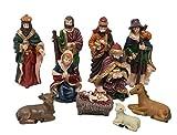 Dungri® Christmas Nativity Set 7 Crib Set Decoration Baby Jesus