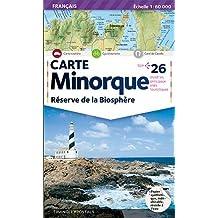 MINORQUE, RESERVE DE LA BIOSPHERE 1/60.000