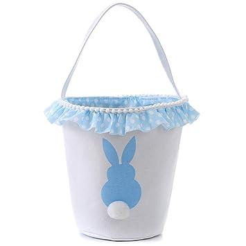 Amazon.com: E-FirstFeeling - Cesta de Pascua para niños ...
