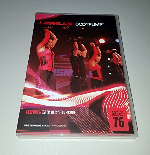 Cardio Pump Step - Les Mills Body Pump New Release 76 DVD, CD & Notes