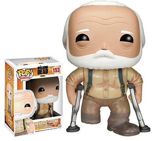 Funko Walking Dead Hershel Pop Tv Figure Toy 3 X 4In Action Figure]()