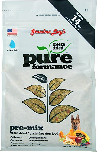Grandma Lucy's Freeze-Dried Grain-Free Pet Food: Pureformance Pre-Mix - Mix Dog Food