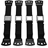 Ella's Homes PREMIUM Anti Tip Furniture TV Safety Straps ALL METAL Parts NO PLASTIC TV Anchor Baby Proof Safety Baby Furniture Straps Earthquake, Child Proof, Flat Screen, Mounting StrapS TV strap