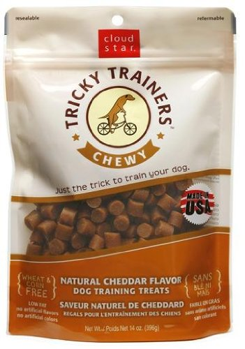 Cloud Star Chewy Tricky Trainers, Liver Flavor, 14-Ounce Pouch