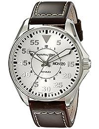 Hamilton Men's H64611555 Khaki Pilot Silver Day Date Dial Watch