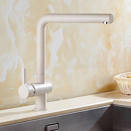 Makej Wasserhahn Warmes Und Kaltes Waschbecken Aus Edelstahl 304 weißen Hahn