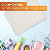 Oasis Supply 100 Piece Edible Rectangle Wafer Paper