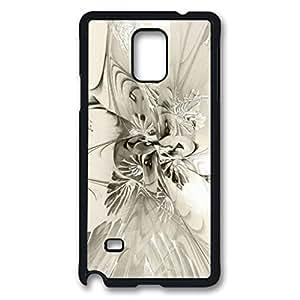 Spiral Mania 8 - Black & White Design Hard Case for Samsung Galaxy Note 4 -1126058