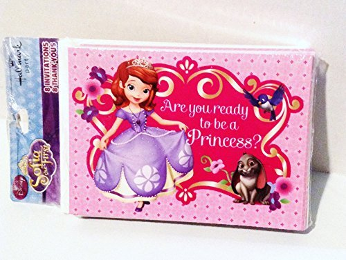 Sofia the First Birthday Invitations & Thank You Cards]()