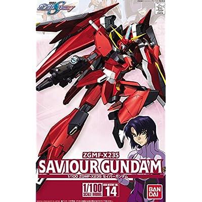 Bandai Hobby Gundam Seed Destiny 14 Saviour 1/100 Scale Model Kit: Toys & Games