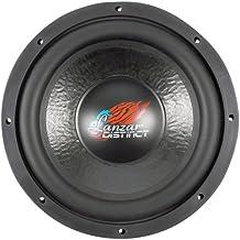 Lanzar DCT124D Distinct Series 1600-Watt 12-Inch Die Cast Aluminum Basket Dual 4-Ohm Subwoofer