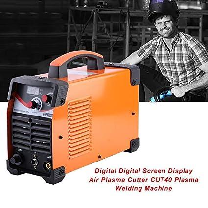 Pantalla digital Pantalla de aire Cortador de plasma de aire Máquina de soldadura de plasma CUT40