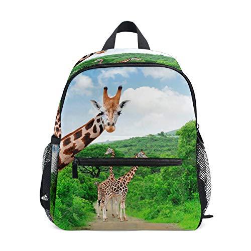 Giraffe Hobo (Kids Backpack Giraffe Summer School Backpacks Cool Bag Campus Daypack Gift)