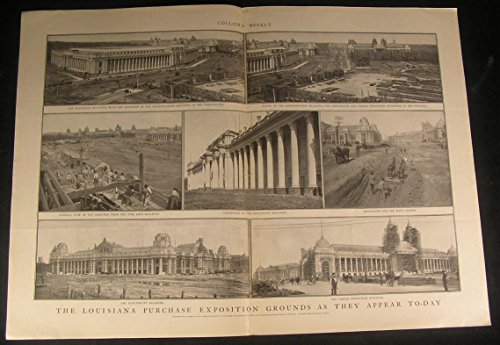 Louisiana Purchase Exposition Beautiful Colonnade 1903 antique historic print ()
