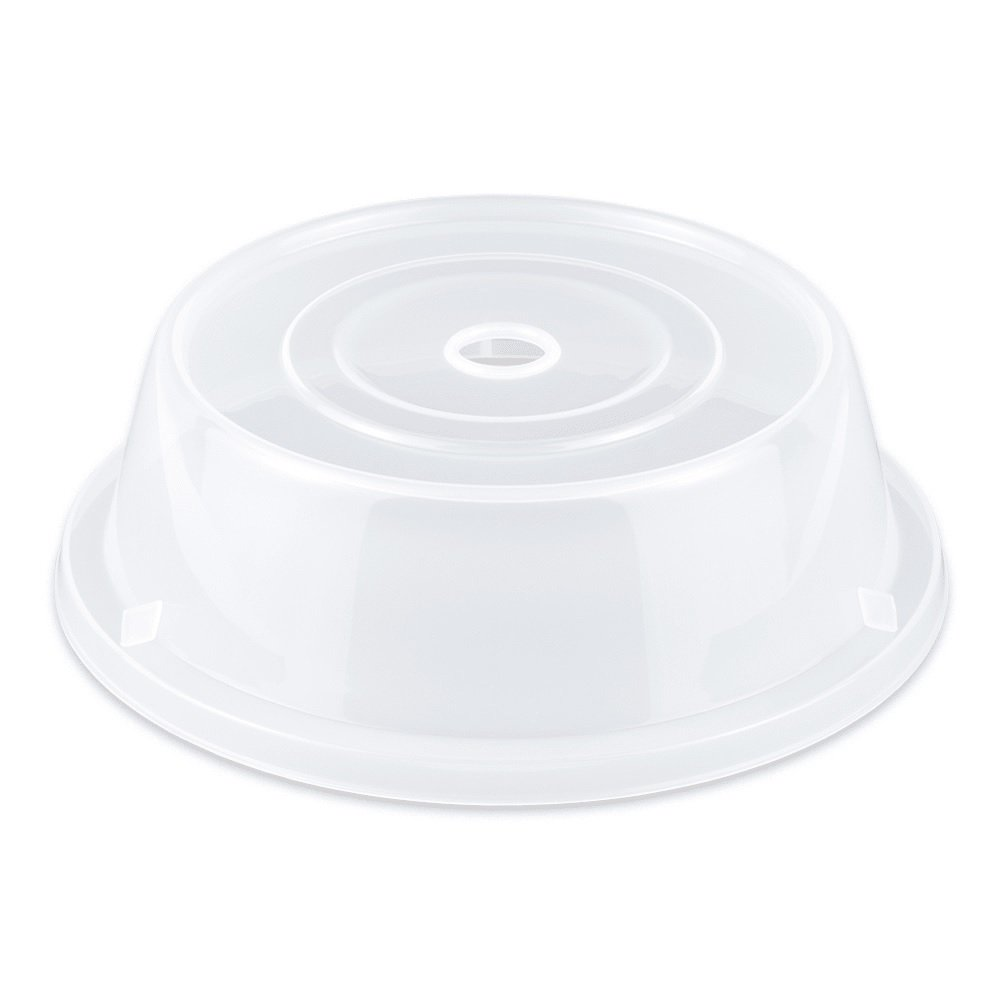 G.E.T. Enterprises CO-93-CL Plate Covers (Qty, 12), Polypropylene, Clear (Pack of 12)