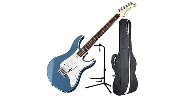 Yamaha Pacifica - pac112j HSS doble Cutaway Guitarra eléctrica con trémolo - lago azul: Amazon.es: Instrumentos musicales