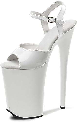 PF Ankle Strap Sandal, Color:White