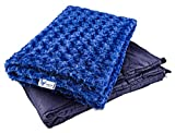Huggaroo Weighted Blanket for Children: Anxiety Relief, Stress Relief, Autism, Relaxation and Stress Reduction, Better Sleep, ADHD, Sensory Processing Disorder (SPD) and Insomnia (6.5 lb, 36x48 in)