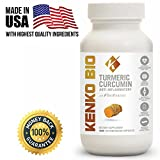 Turmeric Curcumin Supplement with BioPerine For Men & Women Joint and Muscle Pain Anti Inflammatory Antioxidant Anti Aging Supplement 95% Curcumin Extract 100% Natural Turmeric